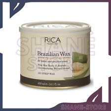 RICA CERA BRASILIANA DEPILATORIA BRAZILIAN WAX ELASTICA SENZA STRISCE 400 ml