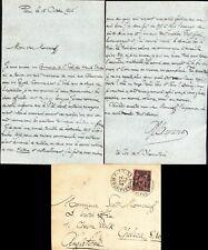 More details for gaston maspero  leading french egyptologist hand written signed letter 1896