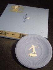 "Wedgwood Jasperware Blue OLYMPIC AUSTRALIA 2000 3"" PIN TRAY Discus Thrower"