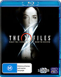THE X-FILES 1 & 2 BLU RAY - NEW & SEALED 2 MOVIE SET FIGHT THE FUTURE FREE POST