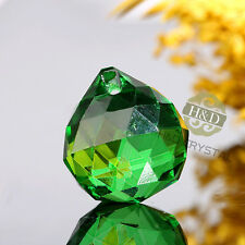 20 Green Crystal Chandelier Lighting Lamp Part Ball Prisms Pendant Wedding Decor