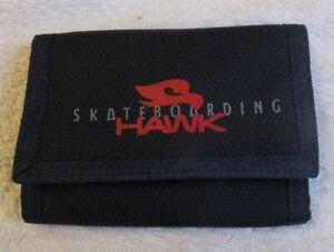 Tony Hawk Skateboarding Tri-Fold, hook and loop fasten Wallet