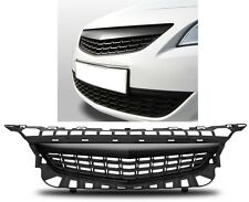 BLACK DEBADGED SPORTS BONNET GRILL FOR VAUXHALL OPEL ASTRA J 2009-2012