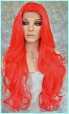 Long RED Lace Front Wig FLOWING SOFT WAVES SEXY FAST SHIP US SELL 1299