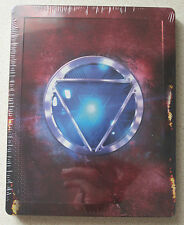 Iron Man 3 3D/2D Blu-Ray Steelbook Region Free Marvel Super Heroes Robert Downey