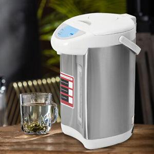 4L Hot Water Dispenser Electric Water Boiler Pot Electric Kettle Tap Grey 220V