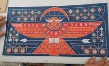 Dave Matthews Band Poster Print Brian Steely #/815 Mansfield MA 6/22/18 DMB