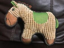 Patchwork Horse Pet Toy Collections Squeaks