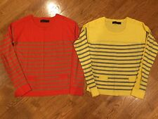 2 The Limited Women's Striped Sweaters XS Excellent Submit An Offer!