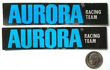 2 Aurora Racing Team 1979 Slot Car TRUCK DECALS Unused