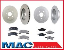 1999-2002 Jeep Grand Cherokee Front & Rear Rotors & Pads with TEVES Calipers