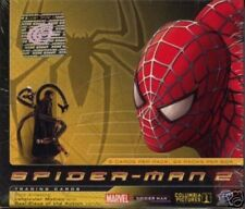 Spider-man 2 movie Trading Cards Booster Display MINT Upper Deck
