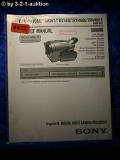 Sony Service Manual DCR TRV360 TRV361 TRV460 TRV460E TRV461E Level 1 (#4863)