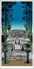 "KILL BILL 2 ""Pai Mei Awaits"" silkscreen print by Tim Doyle Nakatomi Artist"