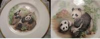 "MARSHALL BOEHM COLLECTOR PLATE PANDA BEAR AND BABY BEAR II 10"" NIB  pick one"
