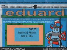 Mesh 4X4 Rhomb Type Stell Neu Eduard Accessories 00035 Ätzsatz