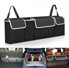 Car Truck Organizer Bag Interior Back Seat High Capacity Accessories Storage Box