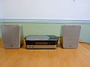 JVC DB7 DAB CD Player Micro Hifi with Bookshelf Speakers