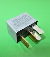 404-Toyota Lexus 4-Pin Silver Multi-Use  Relay 90987-02028 Denso 156700-3290 12V