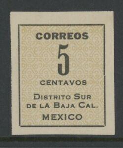 MEXICO, MINT, #403a, NG, NGAI, W/OUT SEAL, BAJA CALIFORNIA, CLEAN