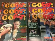 Go64! Magazine (English) 6 issues for Commodore Computers