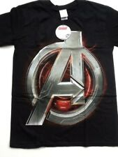 Men's official marvel avengers age of ultron BLACK T Shirts