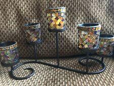 PartyLite Global Fusion 5 light votive centerpiece - with glass votive cups