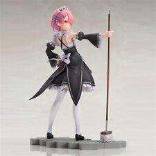 Anime Re:Zero kara Hajimeru Isekai Seikatsu Ram 1/7 PVC Figure New In Box