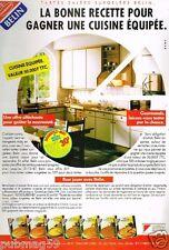 Publicité advertising 1987 Les Tartes Belin Jeu Concours