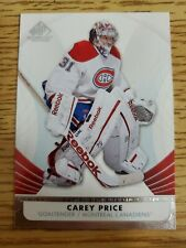 2012-13 SP Game Used #50 Carey Price