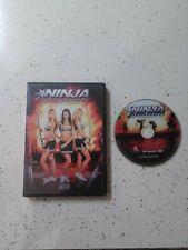 Ninja Cheerleaders...DVD.. Rare....Hard To Find..Mint..