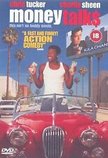 Money Talks DVD Charlie Sheen Chris Tucker Original UK Rele Brand New Sealed R2