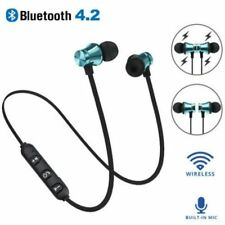 Bluetooth 4.2 Wireless Earphone Earbuds Magnetic Wireless Sports for Smartphone