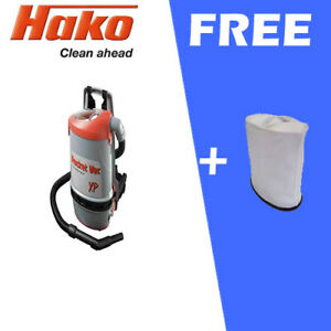 Hako RVXP BACKPACK VACUUM CLEANER COMMERCIAL FREE CLOTH(1)
