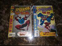 Web of Spider-Man #118 (1st Scarlet Spider) & #119 (1st Kaine) NICE COPIES KEYS