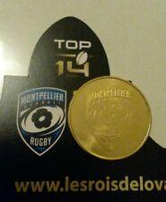 monnaie de paris rugby sport top 14 MONTPELLIER HÉRAULT RUGBY pièce dorée