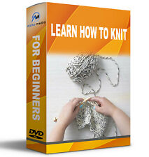 LEARN HOW TO KNIT STEP BY STEP GUIDE ON CD ROM