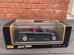 Maisto 1:18 E36 BMW 325i (1993) - Mint In Box 1:18 Nice!