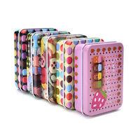 Metal Tin Colors Flip Storage Box Case Organizer For Money Coin Candy Keys WL