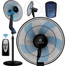 KESSER® Standventilator Fernbedienung Timer 50W Ventilator Luftkühler Klimagerät