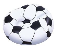 Childrens Kids Boys Large Inflatable Football Fan Soccer Ball Chair Lounger Seat