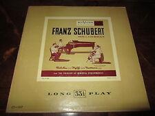 SCHUBERT FEUERMANN RUBINSTEIN HEIFETZ Violin RCA LCT-1017 USA Rare Unplayed