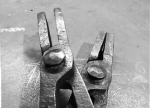 Blacksmiths Flat Bit Tongs