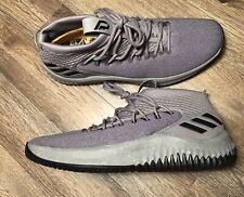 b512bad6a22b Adidas Dame 4 Basketball Yellow Tape Grey Black Damien Lillard (CQ0474)  size 14