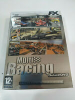 Multi Racing Deluxe Flatout Trackmania Toca Race Driver 3 X Jeux PC Dvd-Rom Am