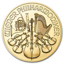 2019 Austria 1/2 oz Gold Philharmonic BU - SKU#173449