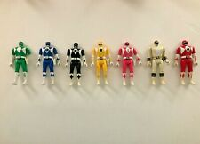 Mighty Morphin Power Rangers figures Auto Morph Fliphead Lot of 7 1993 Bandai