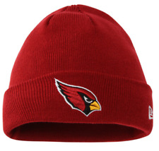 Arizona Cardinals New Era NFL Solid Cuffed Knit Hat Red