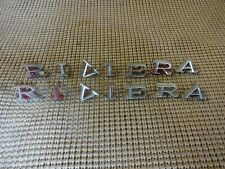 1968 1969 Buick Riviera and Riviera GS Front Fender Emblem Letters