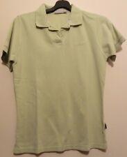 Hellgrünes Poloshirt Kurzarm mit Labelstickerei Gr. L wie neu